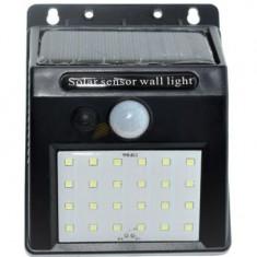 LAMPA LED 2W SOLARA CU SENZOR TRIUNGHI