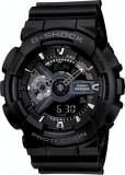 Ceas Sport Casio G-SHOCK GA-110 ALL Black-NOU ! NEGRU -CALITATEA 1- !!!!, Quartz, Plastic