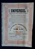 Actiuni 1940 Ziarul Universul - titlu - actiune