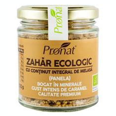 Zahar Pamela cu Continut Integral de Melasa Bio 100 grame Pronat Cod: PRN08716
