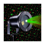 Proiector cu telecomanda laser motion pentru exterior/interior