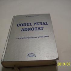 codul penal adnotat cu practica judiciara 1969-2000, c-tin sima