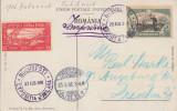 1906 Romania - CPI Expozitia Generala, vigneta inedita supratipar CORESPONDENTA