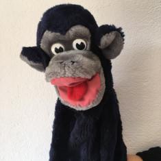 Marioneta teatru de papusi maimuta / maimutica, papusa de mana