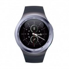 "Smartwatch Techstar® Y1, Display 1.54"", Compatibil Android si IOS, Bluetooth, Pedometru, SIM, MicroSD"