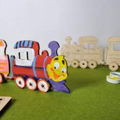 Puzzle din lemn Locomotiva