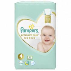 Scutece Pampers Premium Care Maxi 4 Jumbo Pack, 8-14 kg, 68 buc