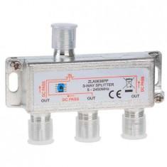 Splitter 3 cai power pass 5-2450 mhz, Splitter TV