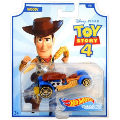 Masinuta metalica Woody Toy Story 4 Hot Wheels