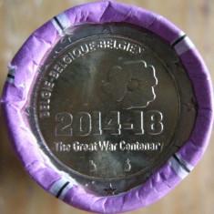 Fisic Monede 2 Euro Comemorative Belgia 2014