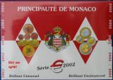 """MONACO 2002 – set monetarie """"1cent – 2 euro"""" BU / folder sigilat, Europa"""