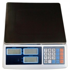 Cantar comercial functie numarare produse,electronic, afisaj LCD HY5K, 30KG foto