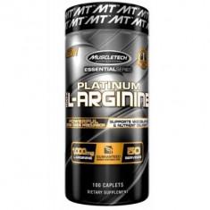 Muscletech L-Arginina 100% Platinum Essential Series 100 Caps