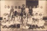 B2629 Fotografie elevi scoala romaneasca poza veche