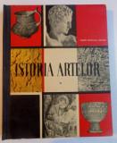 ISTORIA ARTELOR , MANUAL PENTRU CLASA A VI A A SCOLILOR DE ARTE PLASTICE de MARIN NICOLAU GOLFIN , 1967