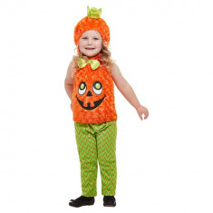 Costumatie Dovleac Halloween Copii 3-4 Ani - Carnaval24