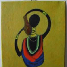 Africa -pictura ulei pe panza