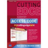 New Cutting Edge Elementary MyCuttingEdgeLab Coursebook with CD-ROM and Access Code - Sarah Cunningham