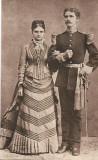 Ofiter roman ante Primul Razboi Mondial fotografie veche interbelica