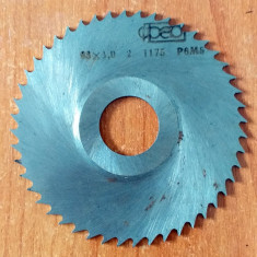 FREZA DISC - D.ext 63 x 1 mm (d.int 15 mm)