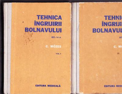 TEHNICA INGRIJIRII BOLNAVULUI  EDITIA 4  VOL 1 SI 2 foto