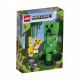LEGO® Minecraft™ - Creeper BigFig si Ocelot (21156)