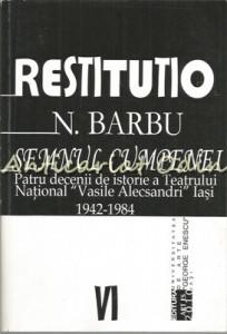 Semnul Cumpenei - N. Barbu - Contine Autograf
