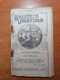Biblioteca universala 1908 - nuvele - de alphonse daudet