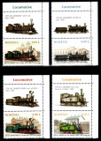 Romania 2011, LP 1912 b, Locomotive, serie cu viniete sus, MNH!