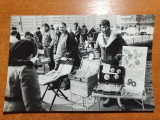 Fotografie vanzatori de martisoare 1990