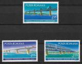 România - 1972 - LP 795 - Poduri - serie completă MNH