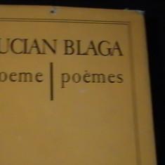 POEME- LUCIAN BLAGA-IN FRANCEZA SI ROMANA-275 PG-