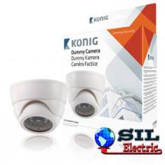 Camera de securitate falsa cu LED, IR Konig