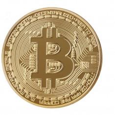 Moneda Suvenir Bitcoin, diametru 40 mm, model MJB 2018