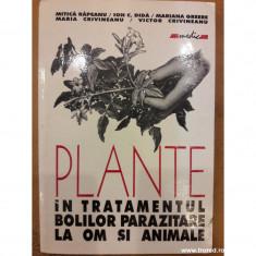 Plante in tratamentul bolilor parazitare la om si animale