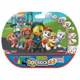Set desen si accesorii Paw Patrol Giga Block 5 in 1