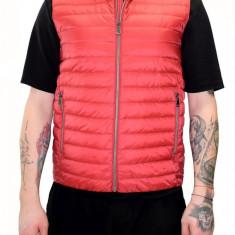 Vesta barbati, din poliamida, marca Geox, M8225C-F7162-05, rosu , marime: 50
