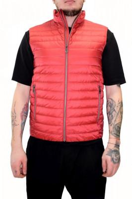 Vesta barbati, din poliamida, marca Geox, M8225C-F7162-05, rosu 50 foto