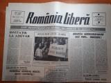 Ziarul romania libera 4 martie 1990-statuia lui lenin de la scanteia data jos