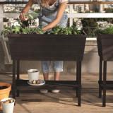 Cumpara ieftin Rasadnita maro cu etajera Keter Urban Bloomer