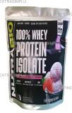 Nutrabio 100% Whey Protein Isolate Strawberry Ice Cream 1000 g