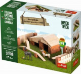 Brick Trick - Cotet pentru caini, 35 caramidute ceramice, Trefl