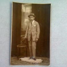 FOTOGRAFIE BARBAT ANII '20, REALIZATA IN BUCURESTI