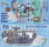 FIJI 7 dollars ND (2017) UNC!!!