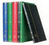 Clasor coperta tare rosu BASIC 32 file/64 pagini negre,banda PVC