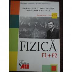 MANUAL DE FIZICA CLS. A XI-A, F1+F2 - OCTAVIAN RUSU