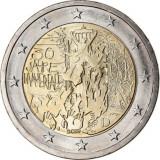 Germania moneda comemorativa 2 euro 2019 - Zidul Berlinului - UNC, Europa