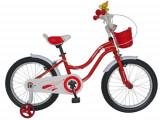 Bicicleta Velors V1802A pentru copii 6-8ani, Roti 18inch (Rosu)