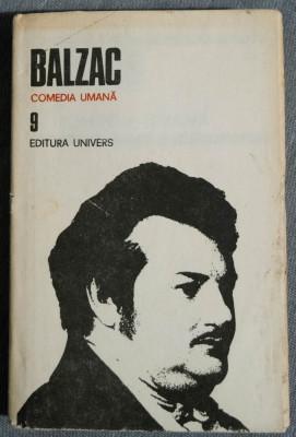Balzac - Comedia umană (vol. 9) (Strălucirea și suferințele curtezanelor) foto