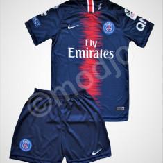 Compleu Echipament Fotbal PSG NEYMAR    pt copii 4-6 ani, YXS, Tricou + Pantalon